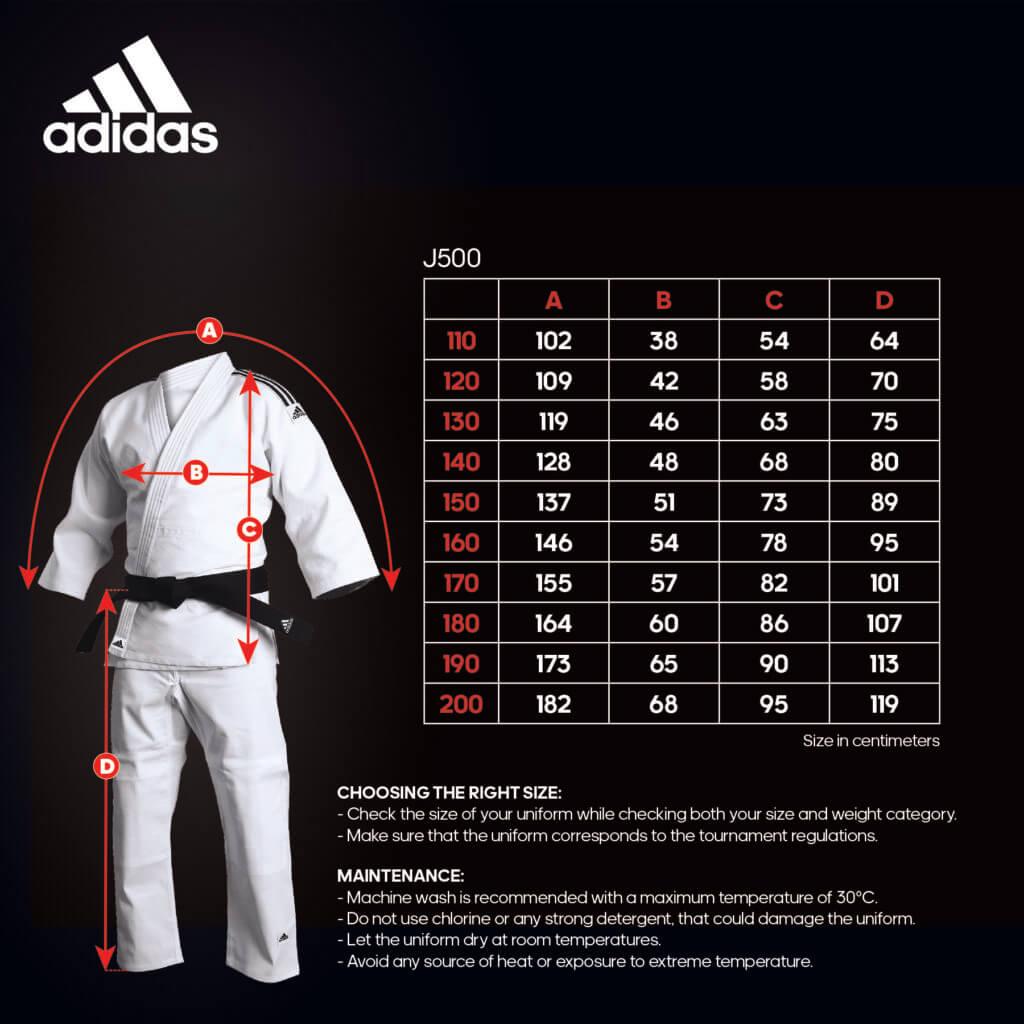 Judo J500 Size Helper